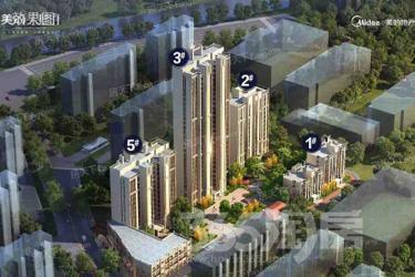 美的云熙府4室2厅2卫145平米毛坯产权房2018年建满五年