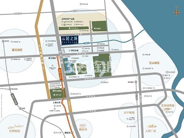 云麓之城交通图