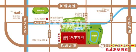 牡丹水岸首府交通图