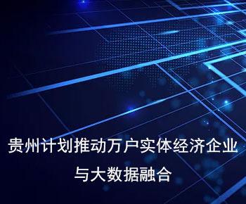 贵州五年内将推动上万户实体经济