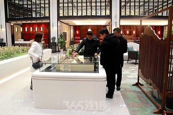 伟星玖璋台新春看房图(2018.2摄)