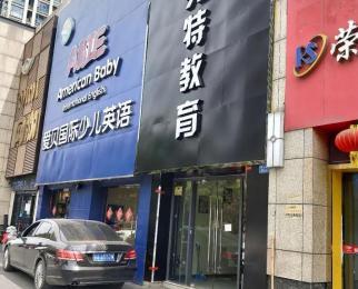 河西万达广场 200平商铺出租 门口位置 车位充足 纯一楼底
