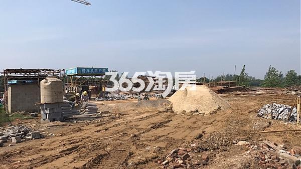 小城故事工地实景图(9.11)