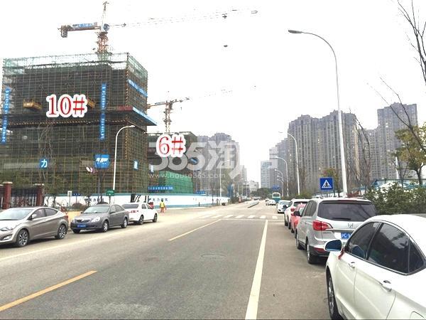 富力运河十号高层、洋房实景图(2017.12 摄)