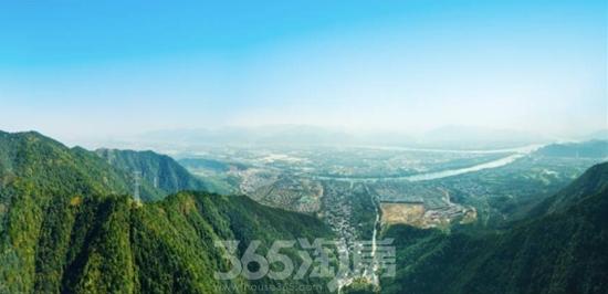 融创微风之城黄公望实景图 2017年11月摄