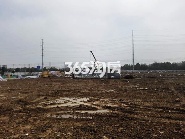 珍宝岛熙悦府南地块土地平整实景图(9.8)