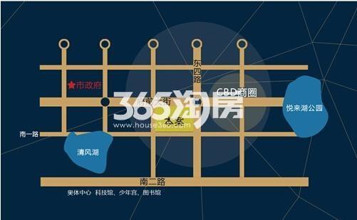 大海鑫庄国际交通图