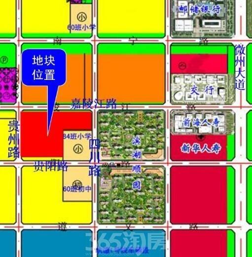 正荣BH2016-14号地块区位图
