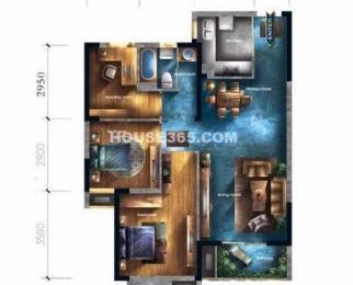 柏庄观邸 精装修三室 拎包入住 仅1万一平 业主急售 双学区