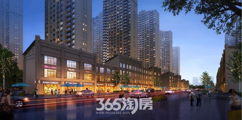 华南城紫荆名都商业街效果图