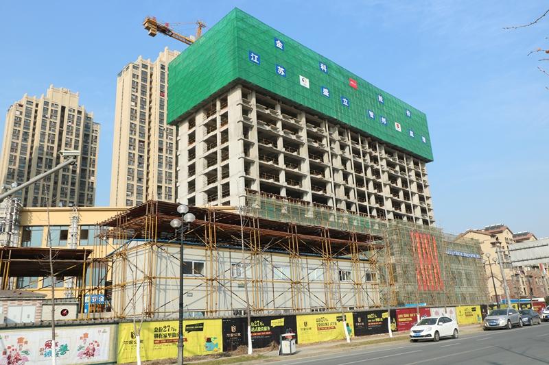 金科米兰尔家公寓施工进度实景图