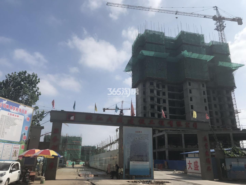 枫林学府高层在建实景图(7.12)