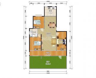 天润城11街区3室2厅1卫101.36平方米255万元