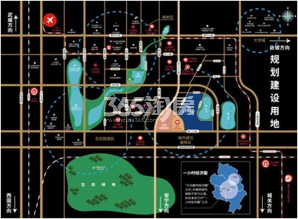 兰州恒大御景天下交通图