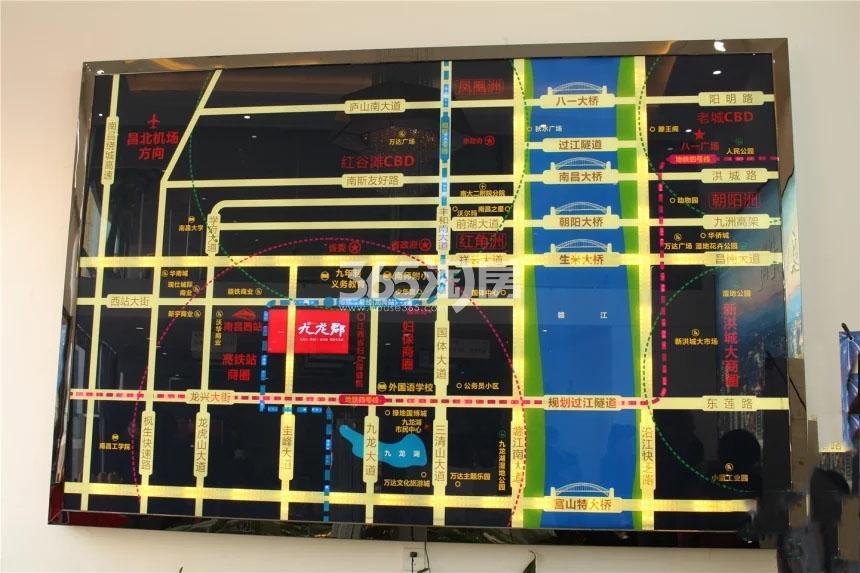 九龙郡交通图