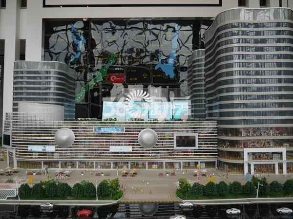 聚云商务广场 沙盘 201803