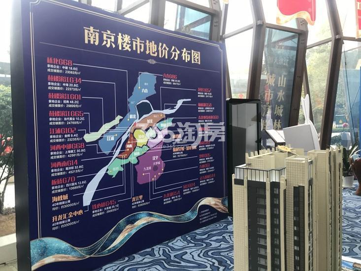 恒大滨江项目售楼处内展示(2.26)