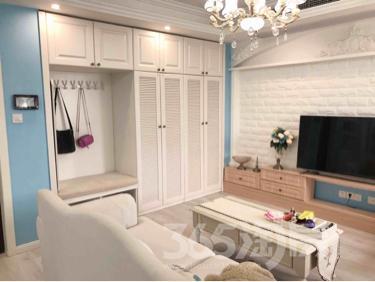 名城世家2室2厅1卫91平米豪华装产权房2013年建