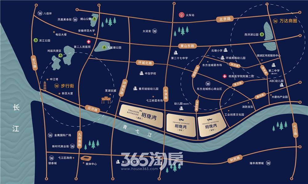 东方龙城龙街交通图