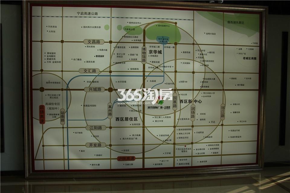 润茂国际广场交通图