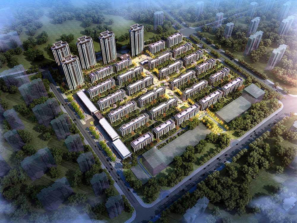 天津和昌府鸟瞰图