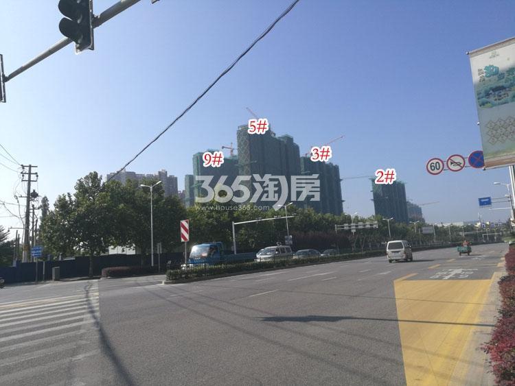 金象朗诗红树林楼栋施工进展(11.22)