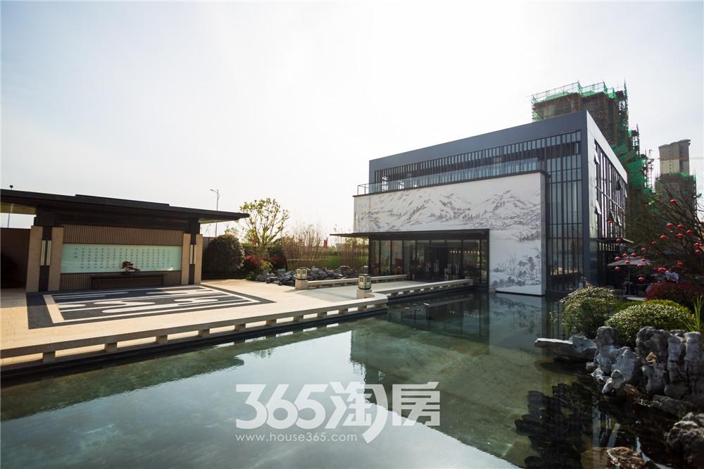 华强江山府营销中心实景图,宽敞大气(2020.4月摄)