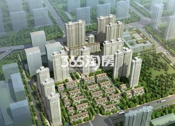 中国铁建西派国际效果图