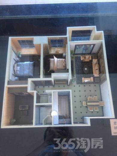 君盛桃源3室2厅1卫109平米毛坯产权房2009年建