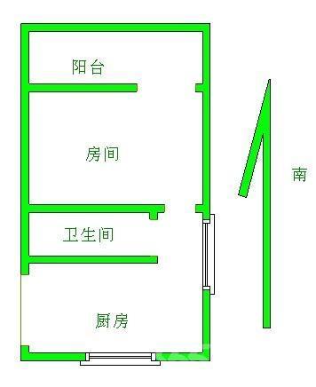 泰翔大厦2室2厅2卫连元街学区地铁口跃层