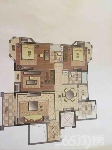 芜湖房屋出租信息 租房 熙龙湾3室2厅2卫153平米整租毛坯