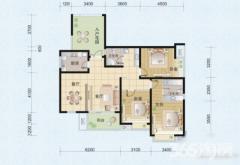 利港银河广场简装三房,家具家电齐全,靠近地铁一号
