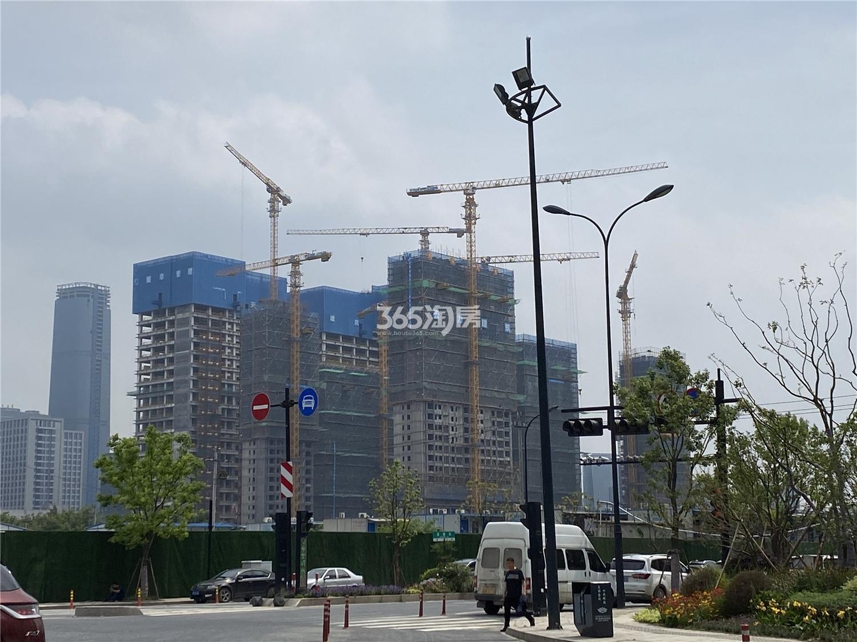 杭州富力中心实景图
