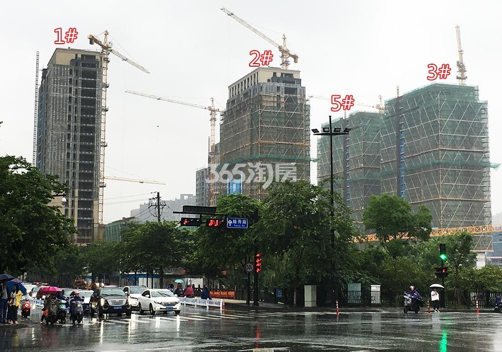 2018年5月31日学院路上拍摄首开杭州金茂府1-3、5号楼