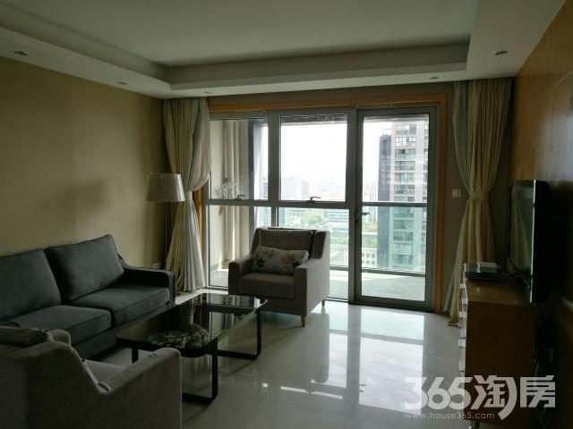 银马公寓2室2厅1卫127平米整租精装