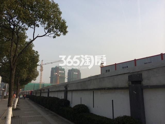 海玥名都苑项目实景图(2016.01.14)