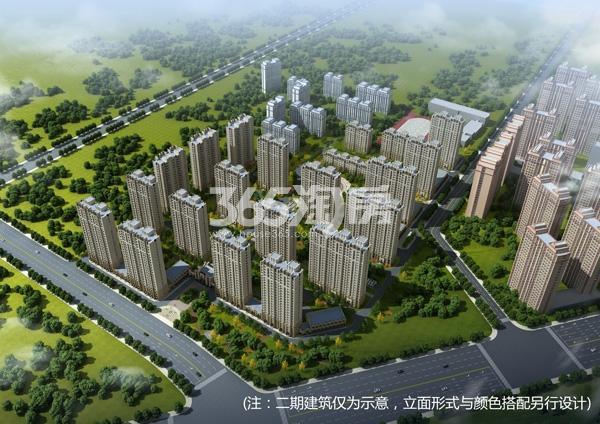 香湾青城鸟瞰图