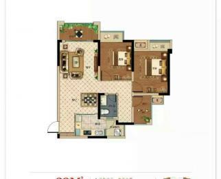 澳海顺园公馆3室2厅1卫79平米五过户费毛坯