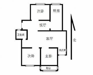 诚租 电梯 精装三室 集庆门大街 应天大街 拎包入住