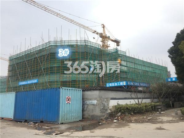 龙湖北宸星座3#施工进展(3.5)