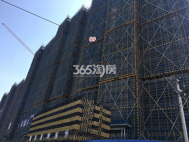 中国铁建西湖国际城6号楼实景图(2018.3)
