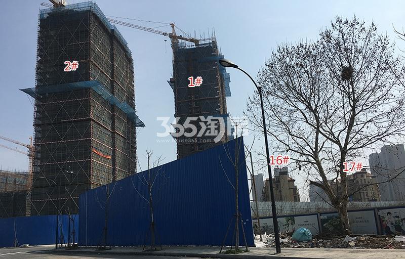 中国铁建西湖国际城1、2、16、17号楼实景图(2018.3)