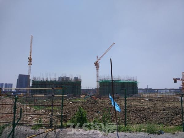 太平洋城中城二期工程实景(2017.6摄)