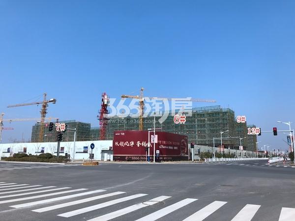 万科天一玖著6#、7#、9#、12#楼洋房最新进展(2018.3)