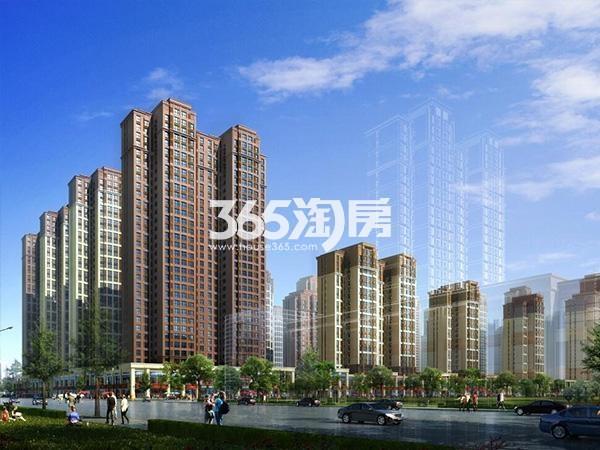 华远海蓝城五期效果图