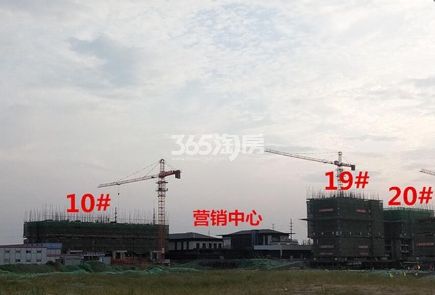 安建翰林天筑项目工程进度(2018.9.11)