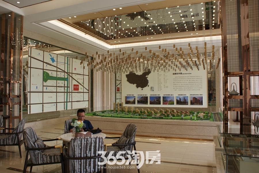 金都檀宫营销中心内景图(2018.9摄)