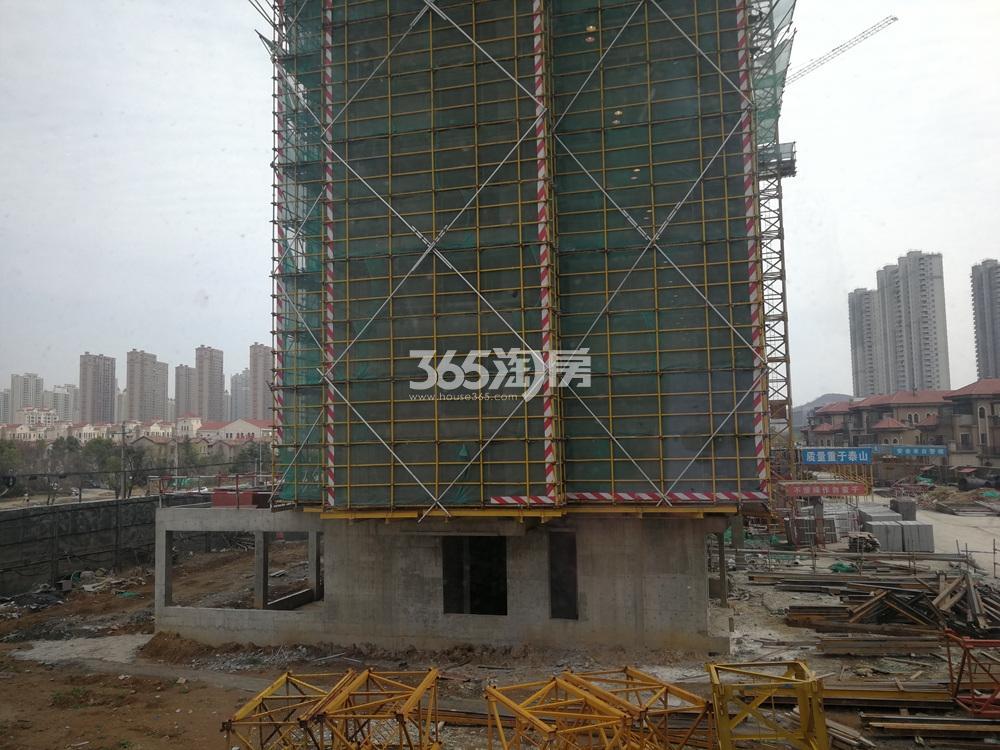 仙林首望城在建实景图(3.6)