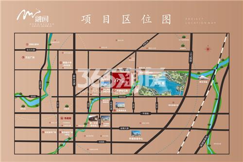 牧发融园交通图