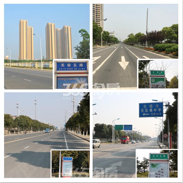 栖霞东方天郡配套图——周边道路